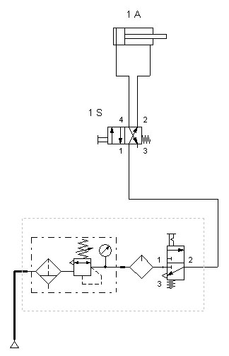 3 Way Pneumatic Valve Diagram Diagrams Wiring Diagram Images
